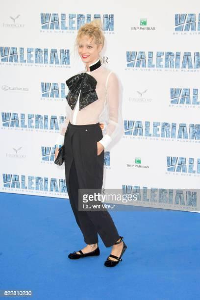 Julie Ordon attends 'Valerian et la Cite desMille Planetes' Paris Premiere at La Cite Du Cinema on July 25 2017 in SaintDenis France