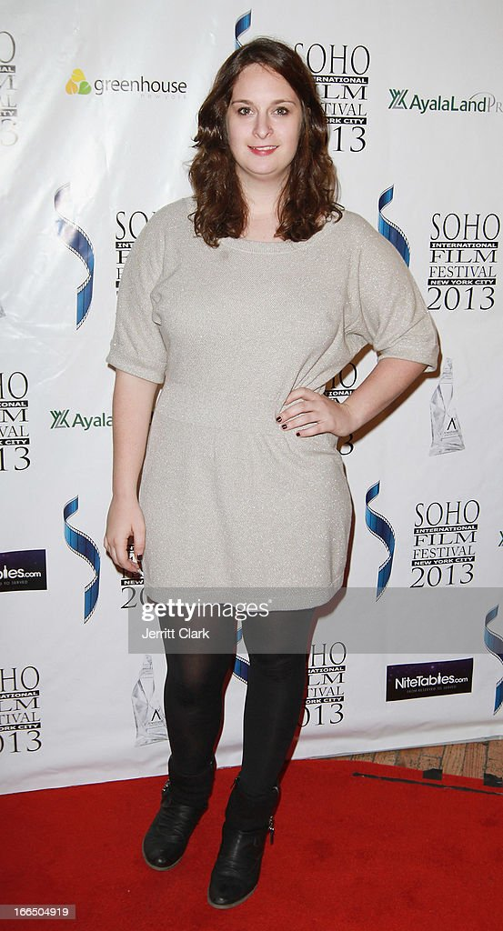 Julie Pacino attends the closing ceremony for the 2013 Soho International Film Festival at Greenhouse on April 12 2013 in New York City