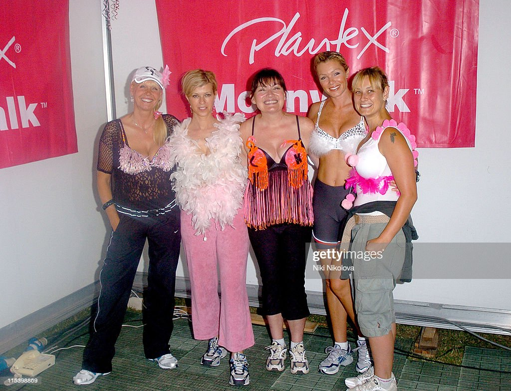 Julie Peasgood Kate Garraway Lorraine Kelly Nell McAndrew and Luisa Bradshaw