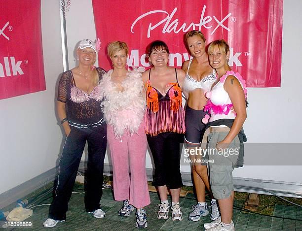 Julie Peasgood Kate Garraway Lorraine Kelly Nell McAndrew and Luisa Bradshaw