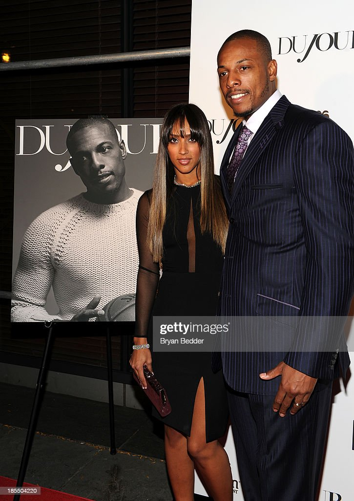 Julie Pierce (L) and NBA player <a gi-track='captionPersonalityLinkClicked' href=/galleries/search?phrase=Paul+Pierce&family=editorial&specificpeople=201562 ng-click='$event.stopPropagation()'>Paul Pierce</a> attend DuJour's Jason Binn's welcoming NY Nets Star <a gi-track='captionPersonalityLinkClicked' href=/galleries/search?phrase=Paul+Pierce&family=editorial&specificpeople=201562 ng-click='$event.stopPropagation()'>Paul Pierce</a> To NYC event on October 21, 2013 in New York City.