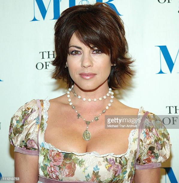 Julie Pinson during Forty Years of 'Days of Our Lives' Arrivals at Museum of Television and Radio in Beverly Hills California United States