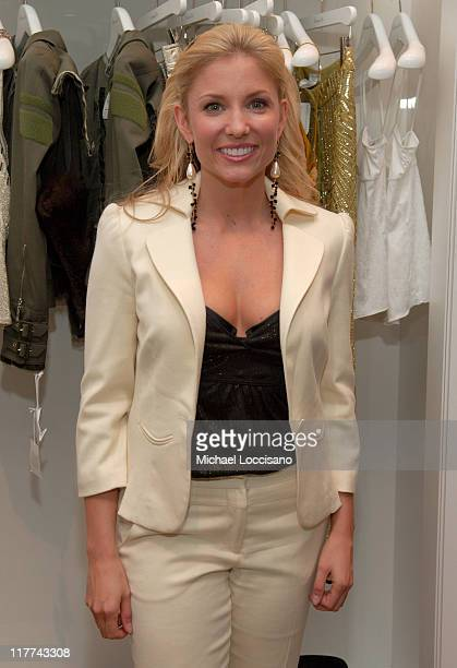 Julie Roberts during Country Takes New York City Saks Fifth Avenue CMA Nominees Party at Saks 611 Fifth Avenue in New York City New York United States
