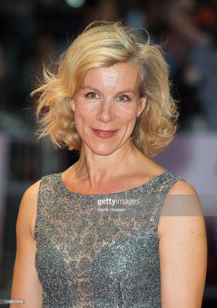 Julie Stevenson attends the World Premiere of 'Diana' at Odeon Leicester Square on September 5, 2013 in London, England.