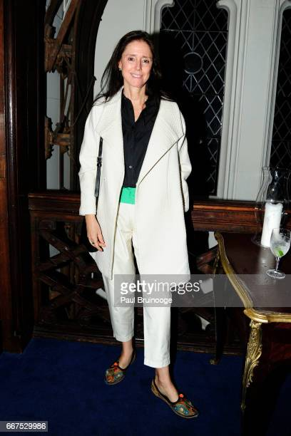 Julie Taymor attends Amazon Studios Bleecker Street Host the After Party for 'The Lost City of Z' at The Explorer's Club on April 11 2017 in New York...