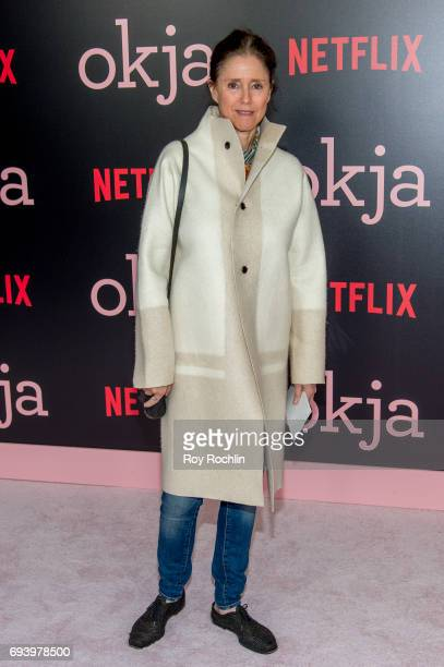 Julie Taymor attends the New York premiere of 'Okja' at AMC Lincoln Square Theater on June 8 2017 in New York City