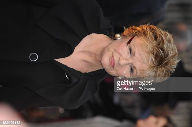 Julie Walters arriving at the Galaxy British Book Awards 2009 Grovesnor House Hotel Park Lane London