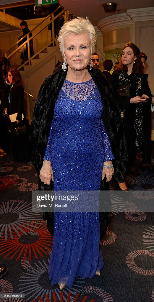<a gi-track='captionPersonalityLinkClicked' href=/galleries/search?phrase=Julie+Walters&family=editorial&specificpeople=206570 ng-click='$event.stopPropagation()'>Julie Walters</a> attends the official After Party Dinner for the EE British Academy Film Awards at The Grosvenor House Hotel on February 14, 2016 in London, England.