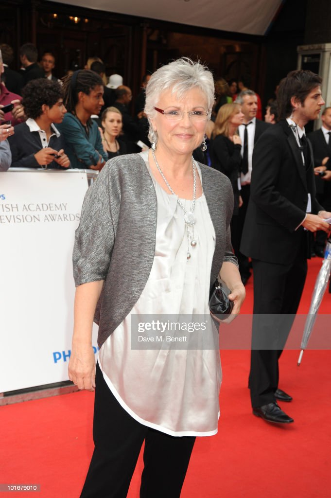 Julie Waters arrives at the Philips British Academy Television Awards at the London Palladium on June 6, 2010 in London, England.