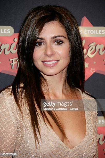 Julie Zenatti arrives at 'Les Etoiles de Cherie FM' awards held in Paris