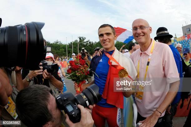 Julien Absalon / Bernard LAPORTE VTT Jeux Olympiques de Pekin 2008