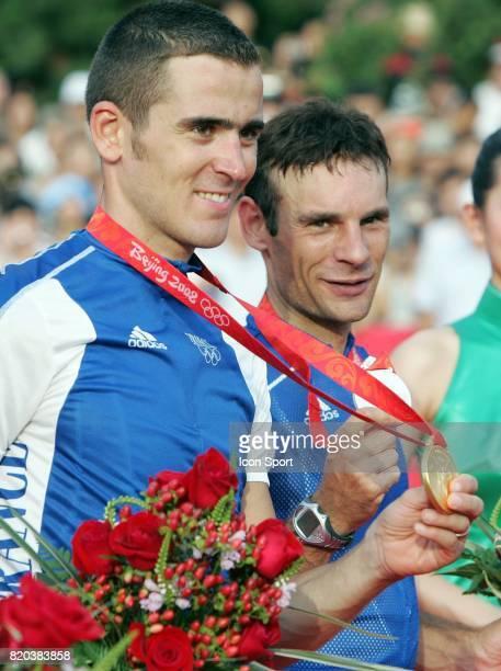 Julien Absalon / Christophe Peraud VTT Jeux Olympiques de Pekin 2008