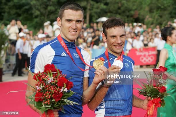 Julien Absalon /Christophe Peraud VTT Jeux Olympiques de Pekin 2008