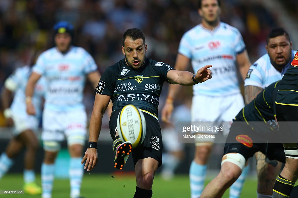 Julien Audy of La Rochelle during the french Top 14 match between Stade Rochelais and Racing 92 on May 27, 2016 in La Rochelle, France.