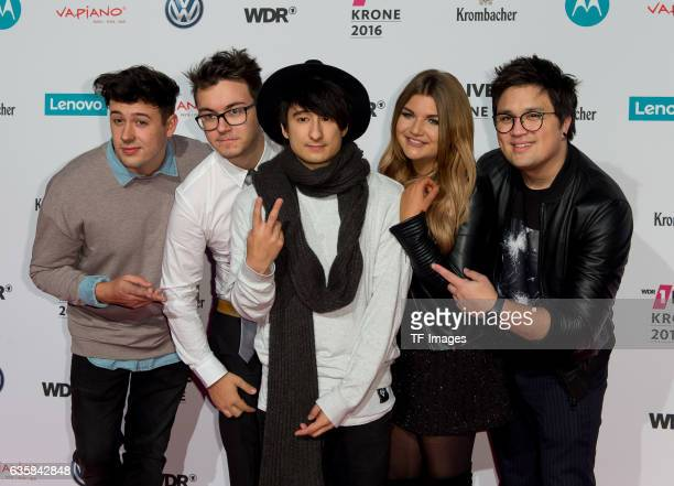 Julien Bam attend the 1Live Krone at Jahrhunderthalle on December 1 2016 in Bochum Germany