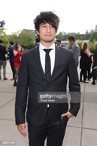 Julien Bam attends the Webvideopreis Deutschland 2016 red carpet arrival at Castello on June 4 2016 in Duesseldorf Germany