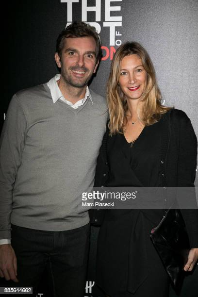 Julien Benneteau and Karen Benneteau attend the Hublot and Berluti unveiling of two new watches at Hotel D'Evreux on December 4 2017 in Paris France