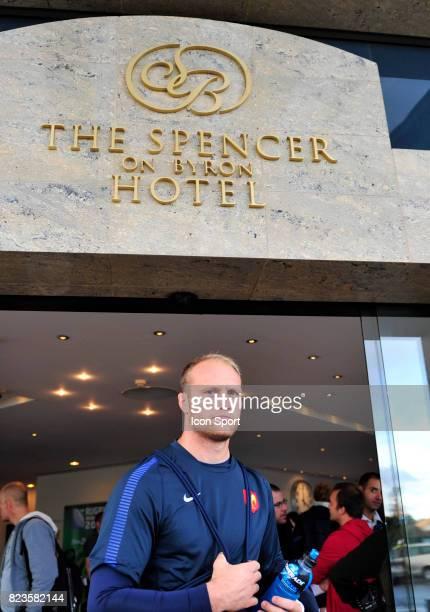 Julien BONNAIRE Conference de presse Equipe de France Rugby The Spencer on Byron Hotel Auckland