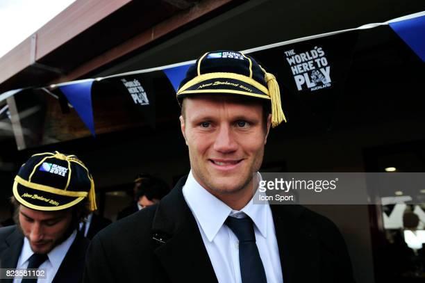 Julien BONNAIRE Ceremonie officielle d'accueil Equipe de France Coupe du Monde Rugby 2011 Orakei Marae