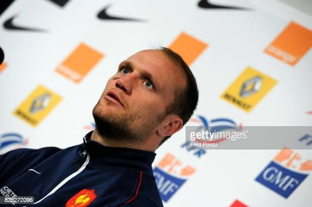 Julien BONNAIRE Rugby Conference de presse Marcoussis