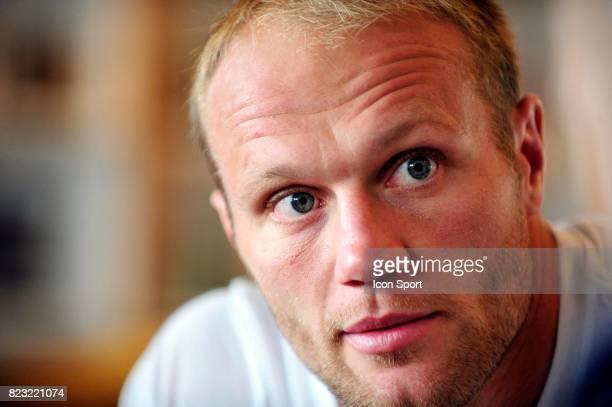 Julien BONNAIRE Conference de presse / Point Presse Equipe de France Coupe du Monde de Rugby 2011 Auckland