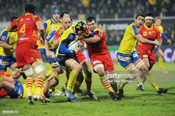 Julien BONNAIRE Clermont Auvergne / Perpignan 14e journee Top 14