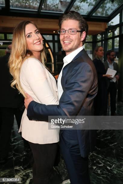 Julien Christopher Fuchsberger grandson of Joachim 'Blacky' Fuchsberger and son of Thomas Fuchsbergerand his girlfriend Nathalie Weber during the...