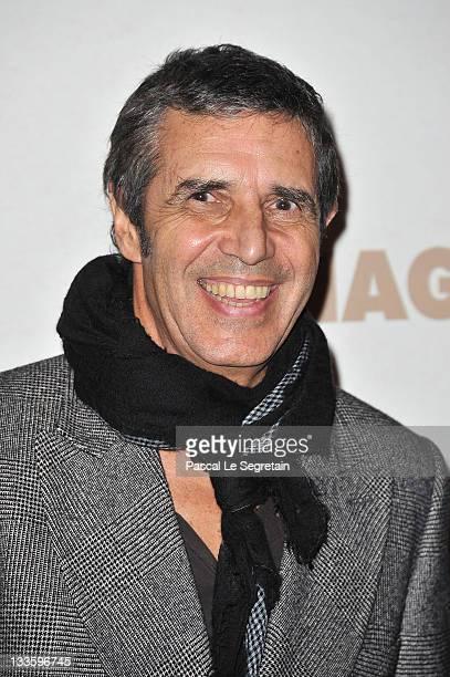 Julien Clerc attends 'Carnage Paris premiere at Cinema Gaumont Marignan on November 20 2011 in Paris France
