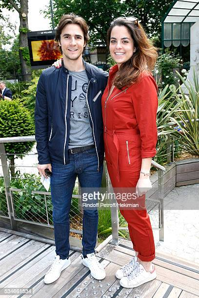 Julien Dereims and Anouchka Delon attend the 2016 French Tennis Open Day Six at Roland Garros on May 27 2016 in Paris France