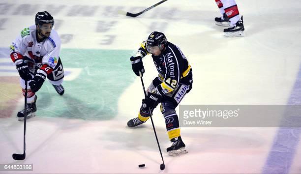 Julien DESROSIERS / Kevin IGIER Hockey sur glace Rouen / Briancon 1/2Finale Coupe de France Photo Dave Winter / Icon Sport