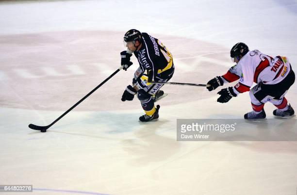 Julien DESROSIERS / Lionel TARANTINO Hockey sur glace Rouen / Briancon 1/2Finale Coupe de France Photo Dave Winter / Icon Sport
