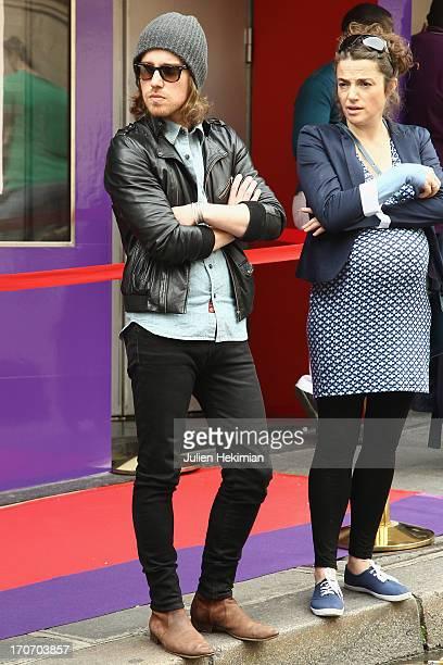 Julien Dore and guest attend 'Nous C'est Trois' Premiere As Part of The Champs Elysees Film Festival 2013 at Cinema Le Balzac on June 16 2013 in...