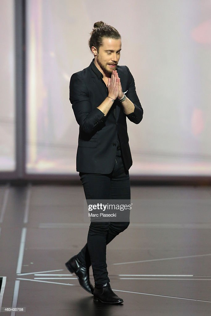 <a gi-track='captionPersonalityLinkClicked' href=/galleries/search?phrase=Julien+Dore&family=editorial&specificpeople=4387742 ng-click='$event.stopPropagation()'>Julien Dore</a> receives the award for the male artist of the year during the 30th 'Victoires de la Musique' French Music Awards Ceremony at le Zenith on February 13, 2015 in Paris, France.