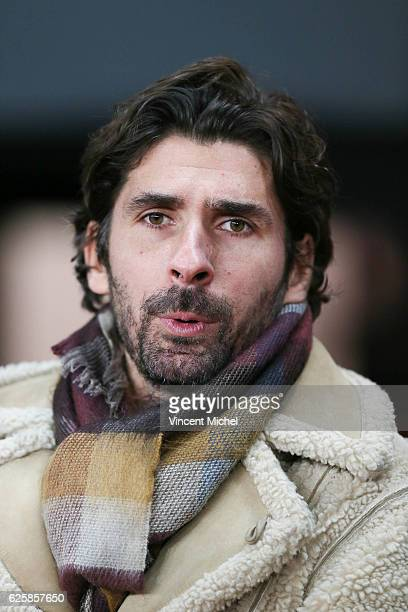 Julien Escude former player of Rennes during the French Ligue 1 match between Rennes and Toulouse at Roazhon Park on November 25 2016 in Rennes France