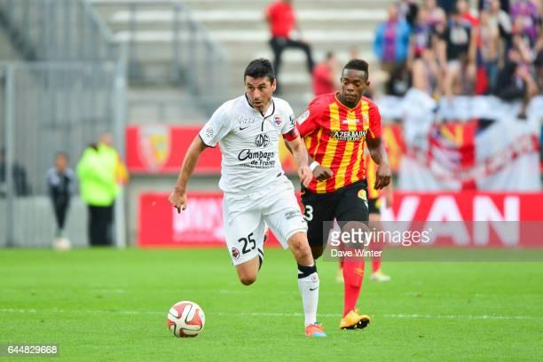 Julien FERET / Wylan CYPRIEN Lens / Caen 8eme journee Ligue 1 Photo Dave Winter / Icon Sport