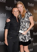 Julien Macdonald and Jodie Kidd winner of the Classic Glamour award attend the 5th annual Rodial Beautiful Awards to celebrate women of style beauty...