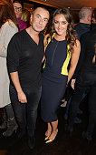 Julien Macdonald and Natasha Corrett attend the launch of Natasha Corrett's new book 'Honestly Healthy Cleanse' at Tredwell's on January 14 2015 in...