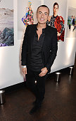 Julien Macdonald attends the InStyle and EE Rising Star Party in association with Lancome Karen Millen and Sky Living at The Ace Hotel on February 2...