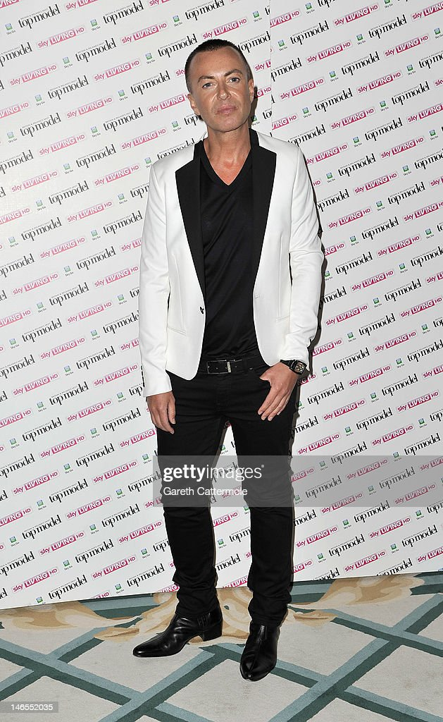 Julien Macdonald attends the launch of Sky Living's model search at Claridges Hotel on June 19, 2012 in London, England.