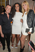 Julien Macdonald Solange Knowles and Melissa Odabash attend the launch of Veuve Clicquot RICH hosted by Solange Knowles at Cafe Royal on May 27 2015...