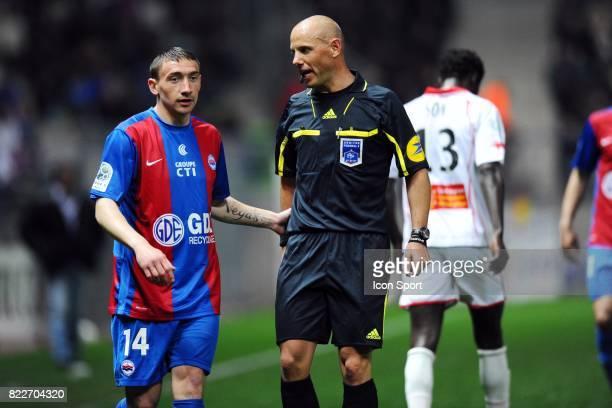 Julien TOUDIC / Amaury DELERUE Caen / Nimes 33eme journee de Ligue 2 Stade Michel d'Ornano Caen