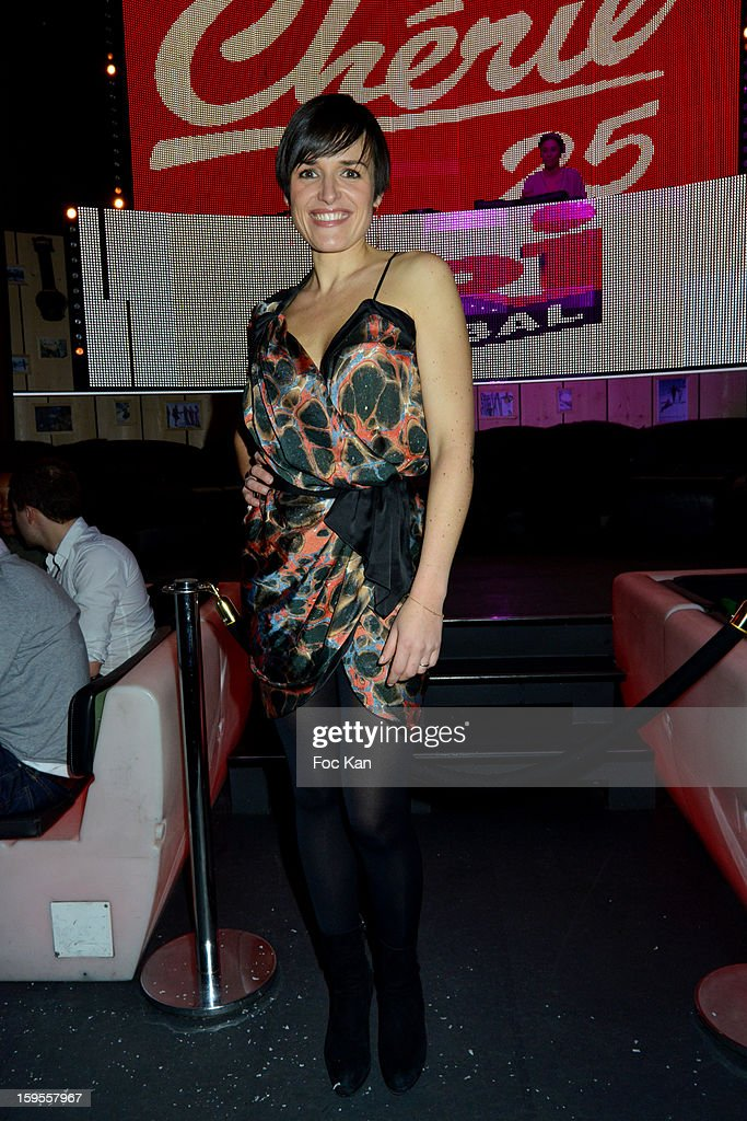 Julienne Bertaux attends the Cherie 25 NRJ Party at VIP Room Theater on January 15, 2013 in Paris, France.