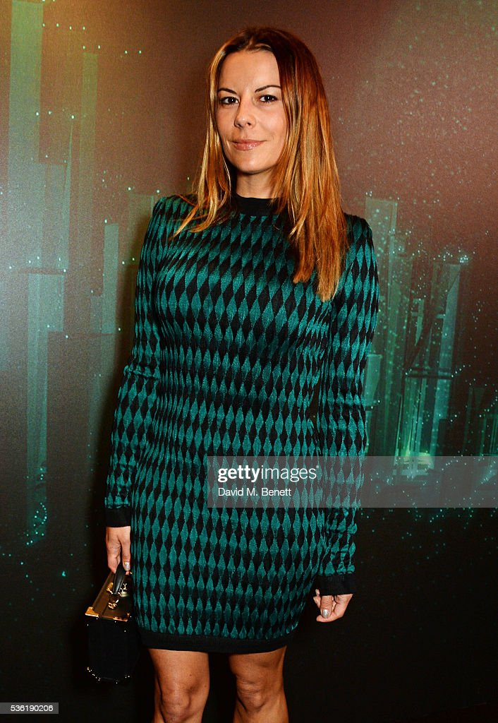 Juliet Angus attends as SIRIN LABS Launches SOLARIN at One Marylebone on May 31, 2016 in London, England.