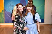 Juliet Falchi and Lin Gao attend Audubon New York Young Members Benefit at Marlborough Gallery on June 2 2016 in New York City