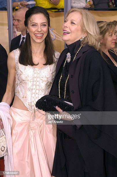 Juliet Landau and mother Barbara Bain during The 10th Annual Screen Actors Guild Awards Arrivals at The Shrine Auditorium in Los Angeles California...