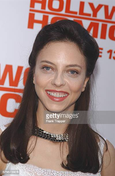 Juliet Landau arriving at the premiere of 'Hollywood Homicide'
