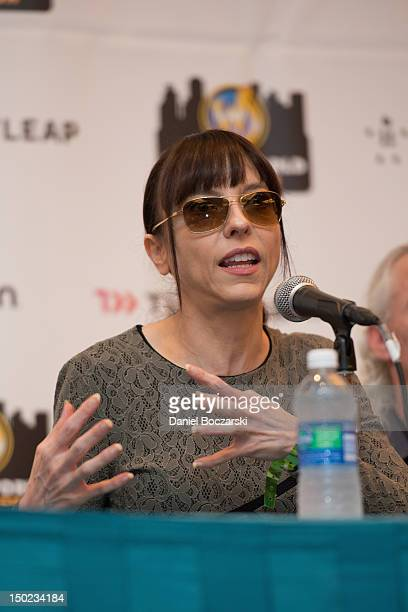 Juliet Landau attends Wizard World Chicago Comic Con 2012 at Donald E Stephens Convention Center on August 12 2012 in Rosemont Illinois