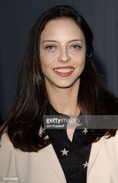 Juliet Landau during 'Buffy The Vampire Slayer' Wrap Party at Miauhaus in Los Angeles California United States