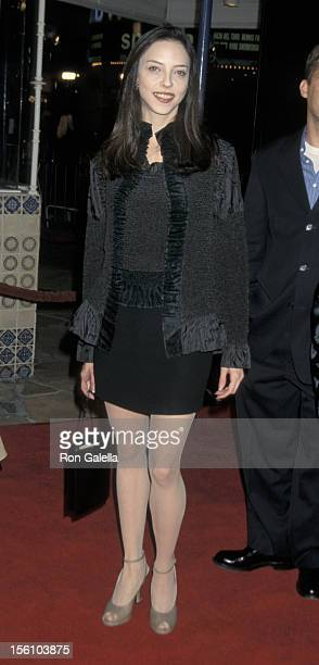 Juliet Landau during Hannibal Premiere at Mann Village Theater in Westwood California United States