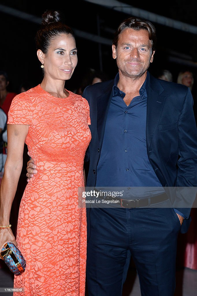 Juliet Linley and Alessio Vinci attend the Opening Dinner Arrivals during the 70th Venice International Film Festival at the Hotel Excelsior on August 28, 2013 in Venice, Italy.